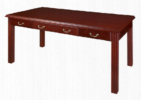 "72"" X 36"" Writing Desk By Regency Furniture"