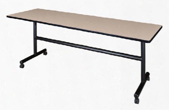 "84"" Flip Top Mobile Training Table By Regency Furniture"