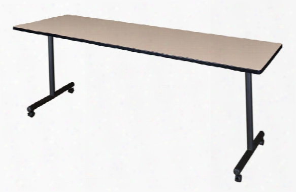 """84"""" X 24"""" Mobile Training Table By Regency Furniture"""