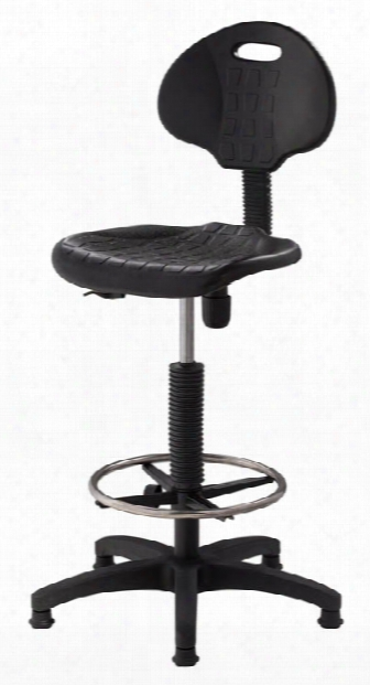 Adjustable Height Stool By National Public Seating