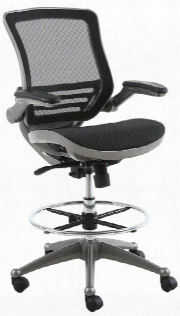 All Mesh Heavy Duty Drafting Chair By Harwick Chairs