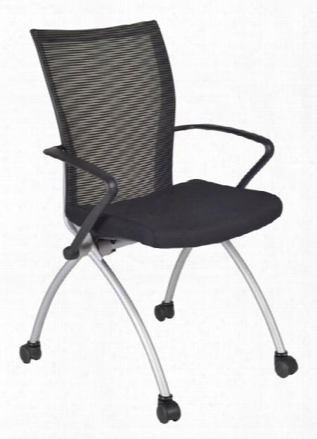 Apprentice Nesting Chair- Black By Regency Furniture