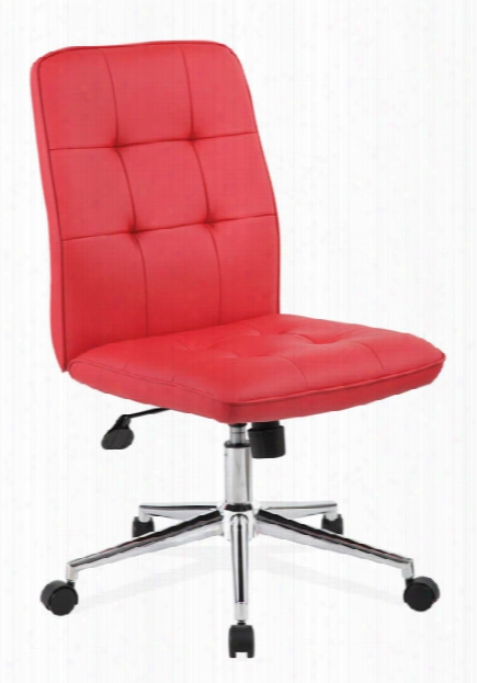 Armless Retro Style Task Chair By Office Source