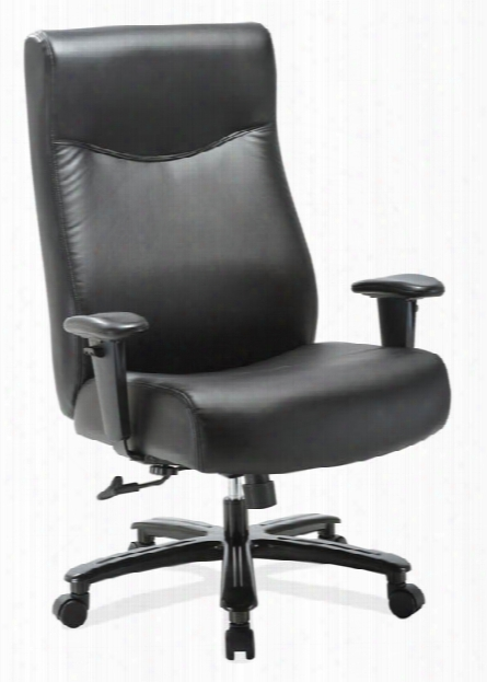 Big & Tall Executive With Black Frame By Office Source