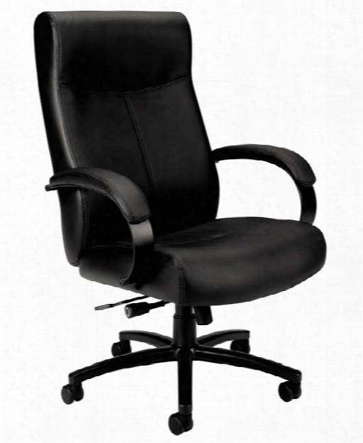 Big & Tall Leather Chair By Hon