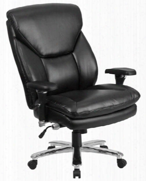 Big & Tall Leather Executive Chair By Innovations Office Furniture