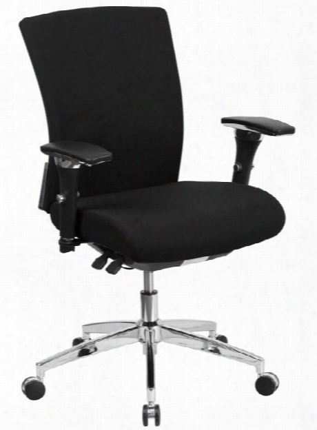 Big & Tall Mid-back, Executive Swivel Chair By Innovations Office Furniture