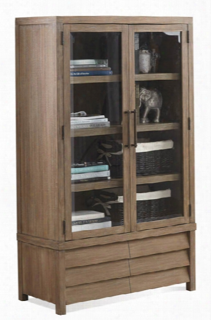 Cabinet Bookcase By Riverside