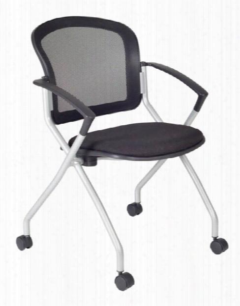Cadence Nesting Chair- Black By Regency Furniture