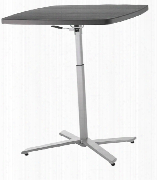 Cafe Time Adjustable Height Table By National Public Seating