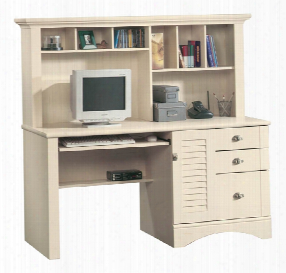 Computer Desk With Hutch By Sauder