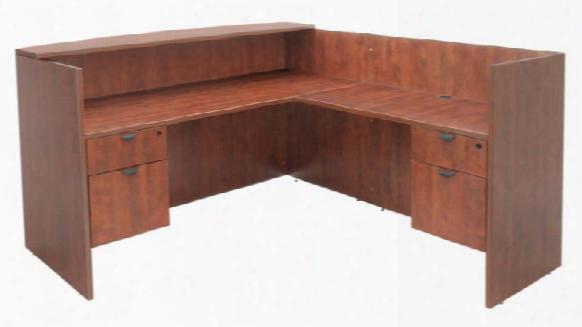 Double Box File Pedestal Reception Desk By Regency Furniture