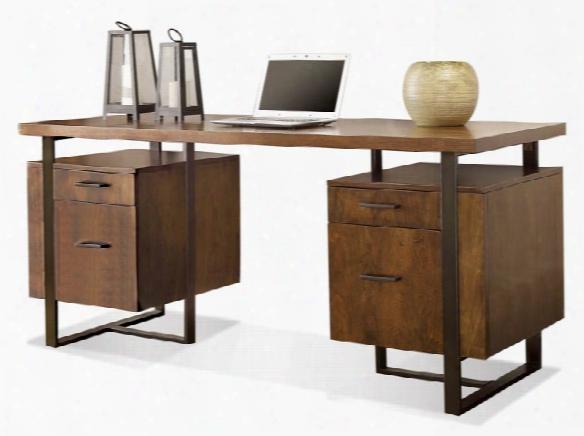 Double Pedestal Desk By Riverside