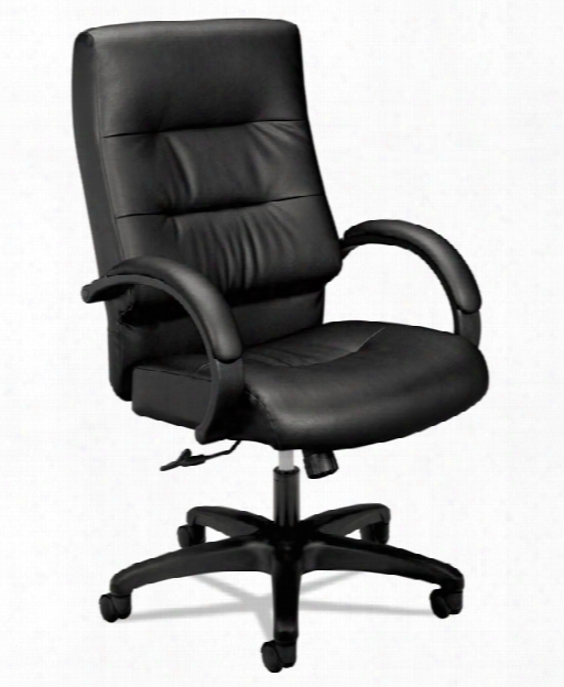 Executive High-back Leather Chair By Hon