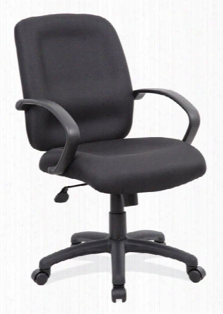 Executive Mid Back With Black Frame Office Chair By Office Source