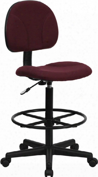 Fabric Drafting Chair, Armless By Innovations Office Furniture