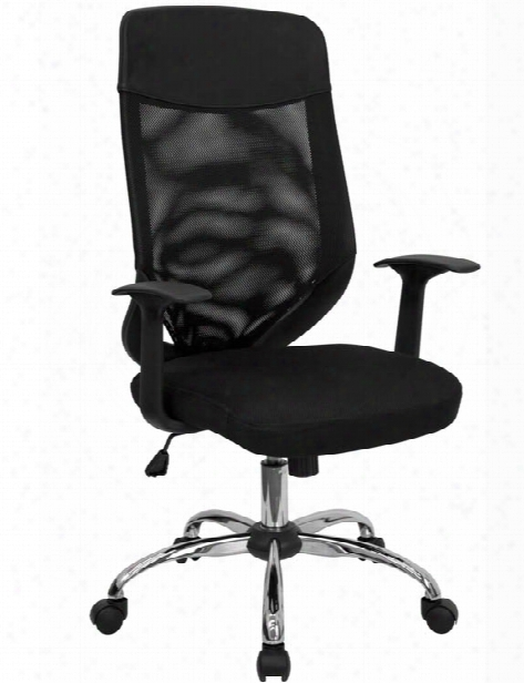 High-back Executive Swivel Chair With Arms By Innovations Office Furniture