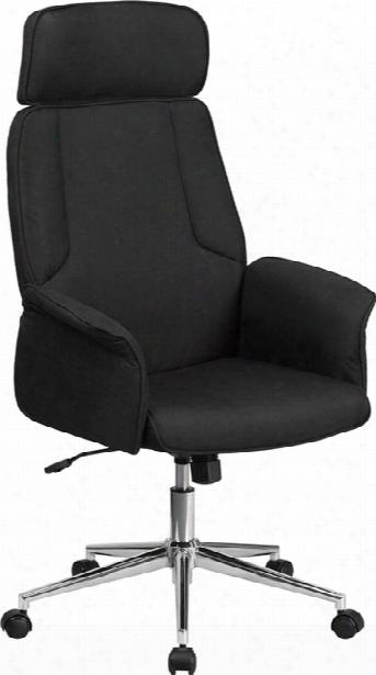 High Back Fabric Executive Chair By Innovations Office Furniture
