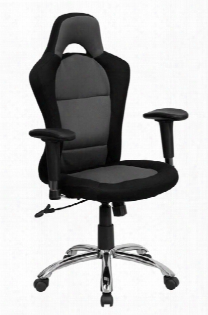 High-back Mesh Swivel Chair With Bucket Seat By Innovations Office Furniture