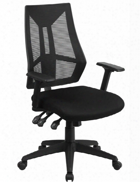 High Back Multi-function Task Chair With Arms By Innovations Office Furniture