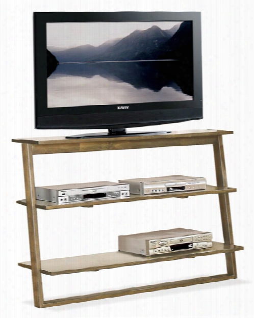 Leaning Tv Stand By Riverside