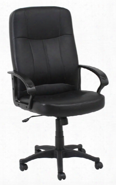 Leather Manager Chair By Solution Seating