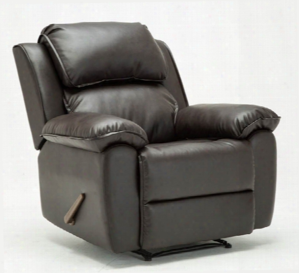 Leather Recliner By Solution Seating