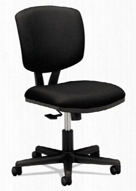 Leather Task Chair With Synchro-tilt By Hon
