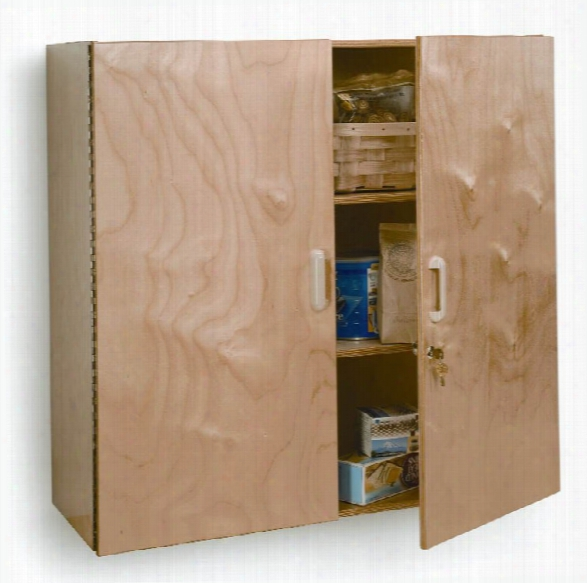 Lockable Wall Cabinet By Whitney Brothers