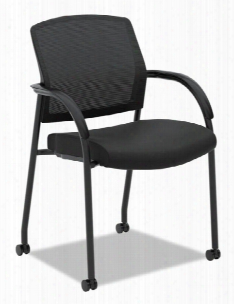 Lota Series Mesh Guest Side Chair By Hon