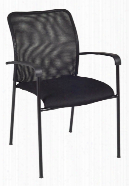 Mario Stack Chair- Black By Regency Furniture