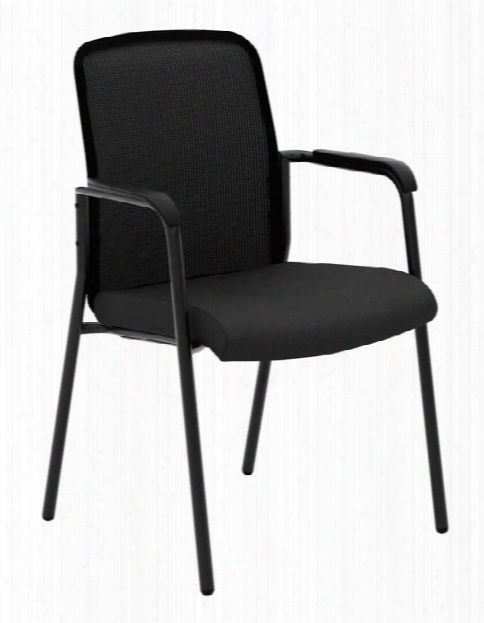 Mesh Back Multi-purpose Chair With Arms By Hon