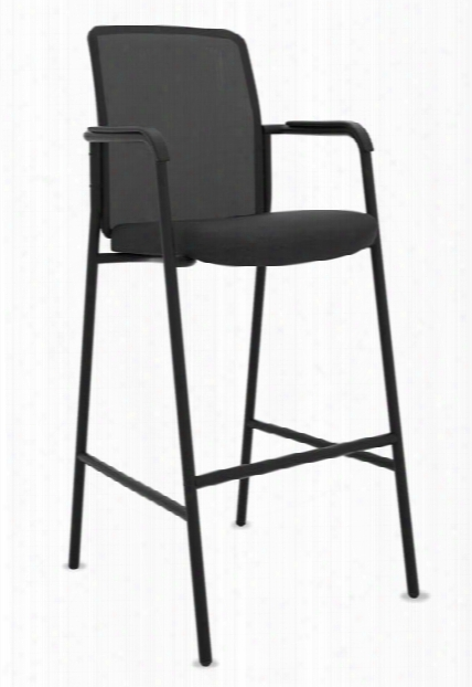 Mesh Back Multi-purpose Stool With Arms (2 Count) By Hon