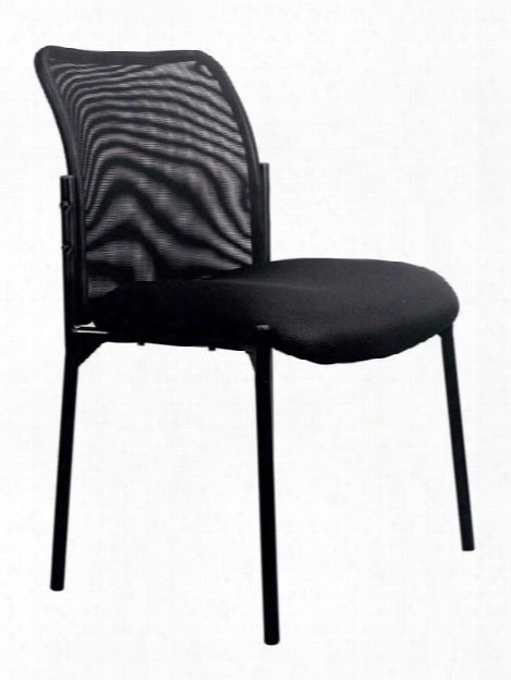 Mesh Back Side Chair By Essentials