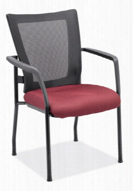 Mesh Back Stacking Chair By Office Source