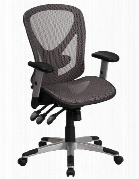 Mid-back Mesh Swivel Task Chair With Arms By Innovations Office Furniture