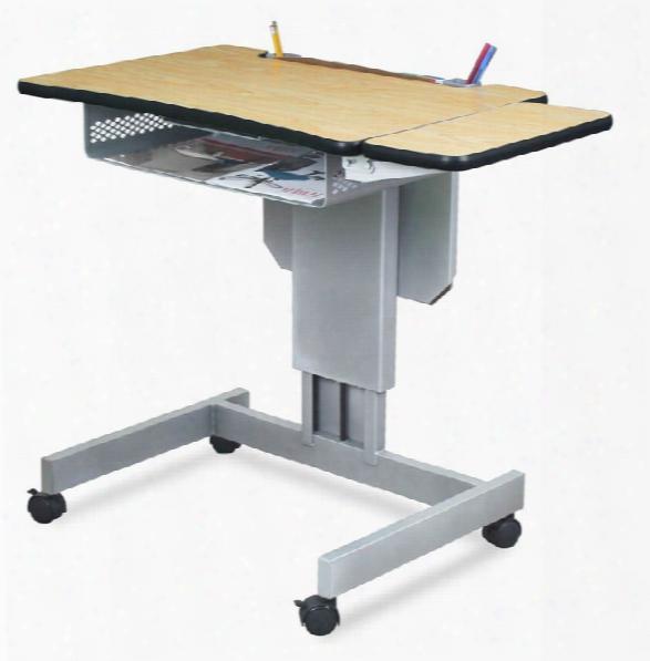 Mobile Focus Adjustable Height Desk By Marvel