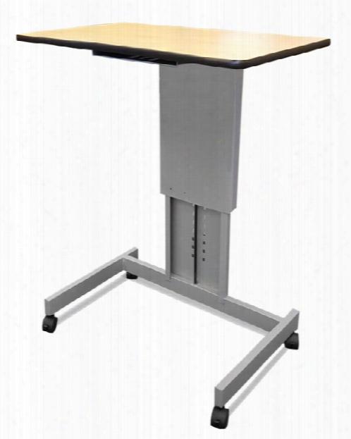 Mobile Focus Xt Adjustable Height Desk By Wonder