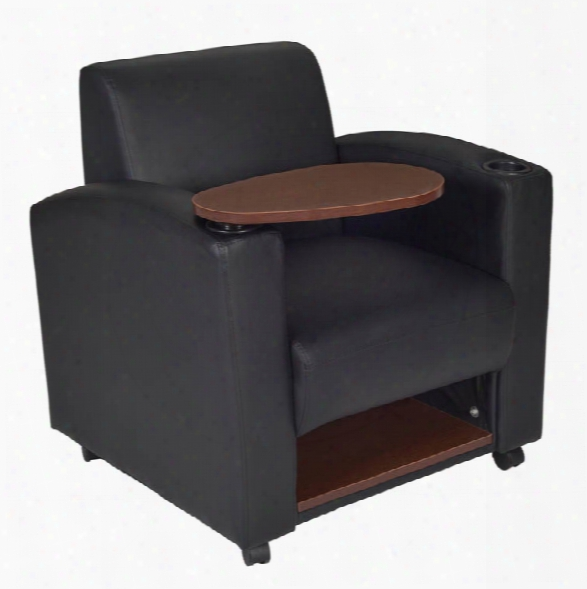 Nova Tablet Arm Chair- Black/java By Regency Furniture