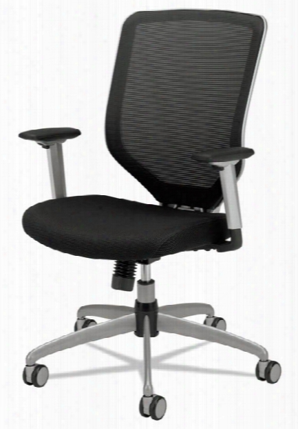 Padded Mesh High-back Work Chair By Hon