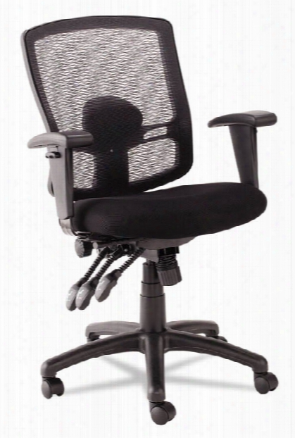 Petite Mid-back Multi-function Mesh Chair By Alera