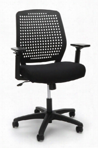 Plastic Back Ergonomic Task Chair By Essentials