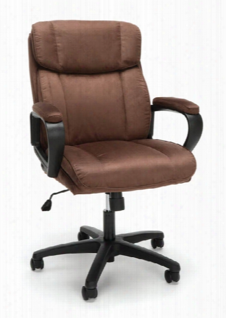 Plush Microfiber Office Chair By Essentials