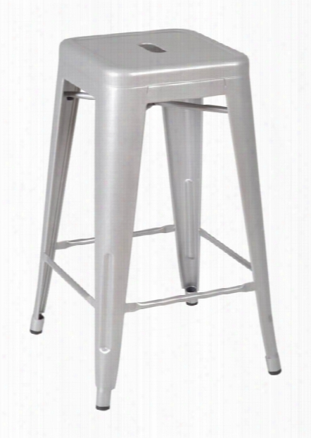 Rivet Stack Stool (36 Pack)- Gray By Regency Furniture