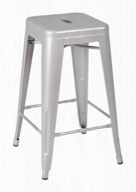 Rivet Stack Stool (36 Pack)- Gray By Regency Furniture