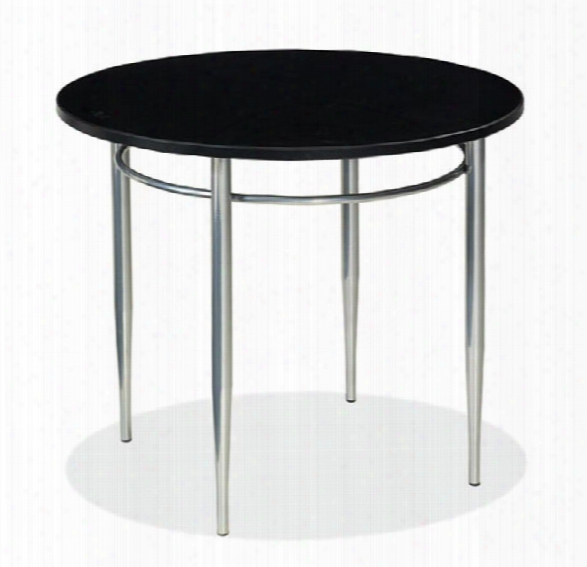 Round End Table By Office Source