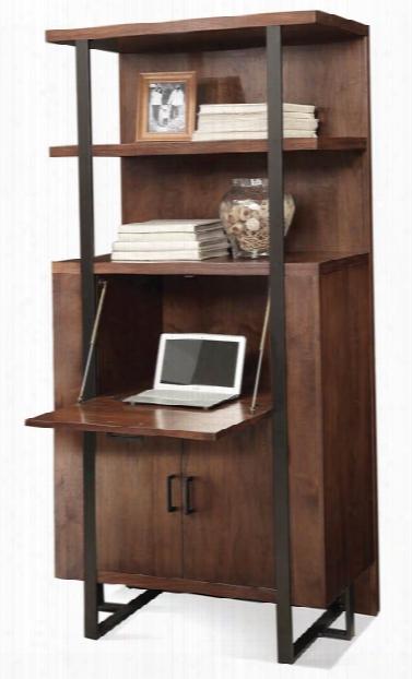 Secretary Bookcase By Riverside