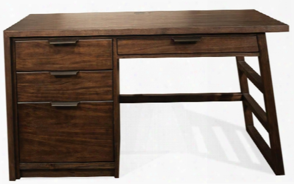 Single Pedestal Desk By Riverside