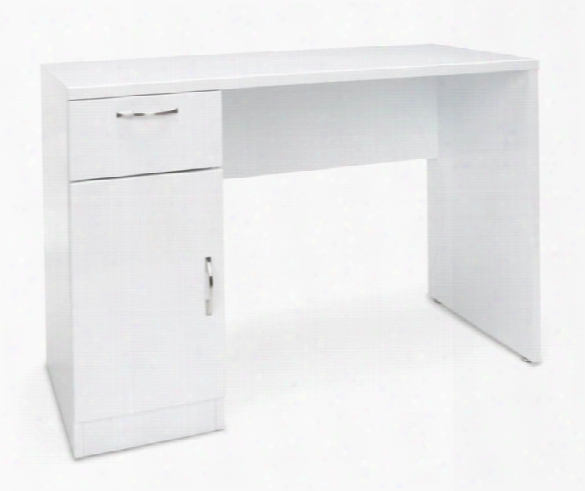 Single Pedestal Office Desk By Essentials