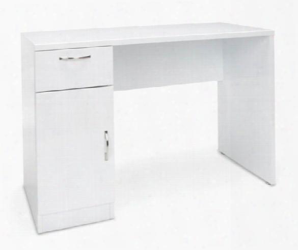 Single Pedestal Office Desk By Essentials